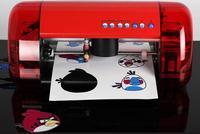 DIY Бумага вырубной станок миниатюрный лазерный позиционирование высечки машина плоттер умереть машина USB Интерфейс лазерной гравировкой