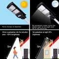 40W IP67 Wasserdichte Outdoor Solar Straße Licht Mit Licht Fernbedienung + Powered Radar Sensor für Garten Hof Straße flut Lampe