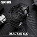 SKMEI 1243 10pcs Men Digital Wristwatches Double Time Sports Watches Clock Waterproof Relogio Back Light LED Chronograph Shock