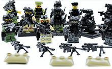 hot 12 PZ LegoINGlys mini Military figures Army field forces Specia Force Building blocks war weapon