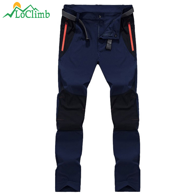39a10d0e9 WindTaste Men's Summer Outdoor Camping Pants Quick Dry Hiking ...