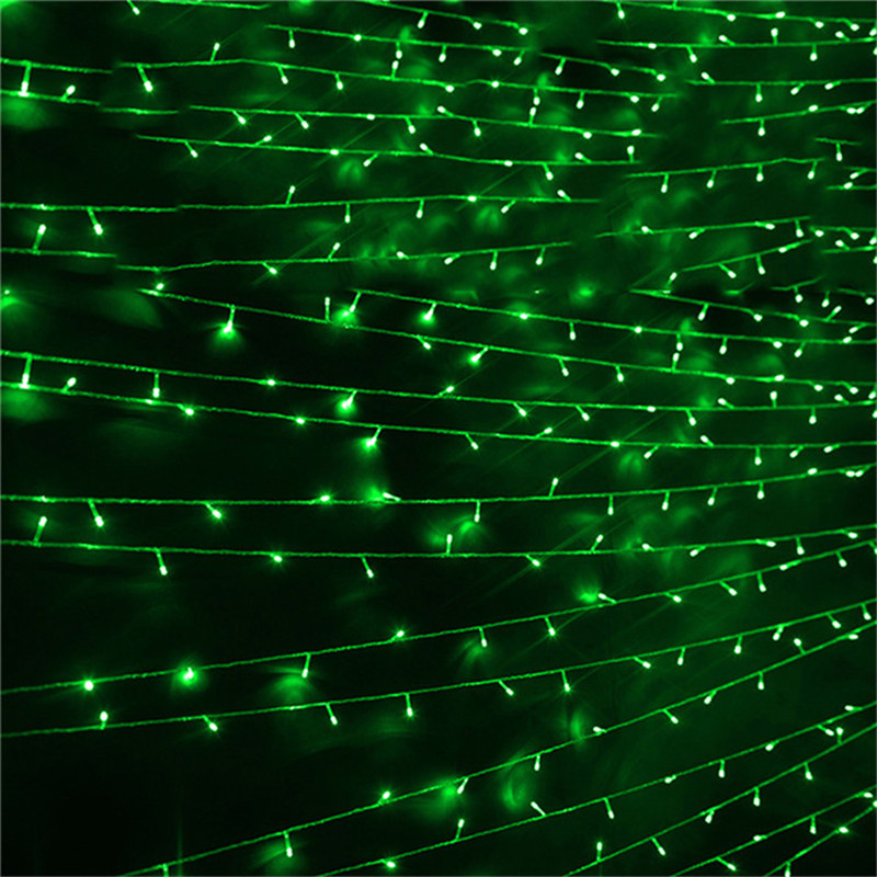100M 600LED Garland AC110V 220V Fairy String Waterproof Christmas Lights Outdoor For Party Indoor Garden Wedding Home Decoration zinuo 30m 50m 100m led garland ac110v 220v fairy string waterproof christmas lights outdoor for xmas wedding decoration