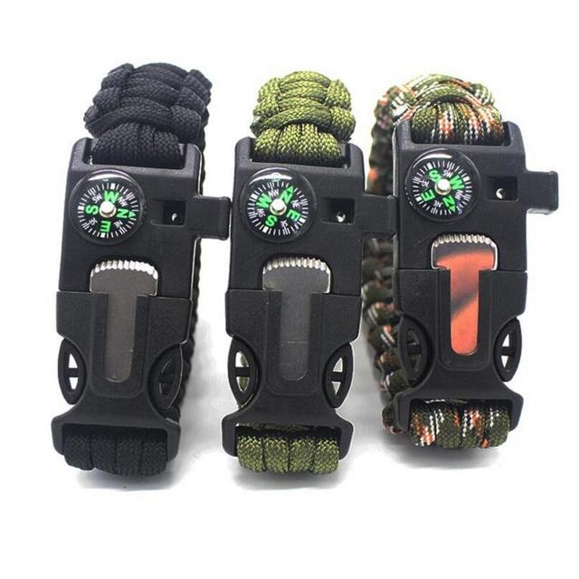 Купить плетеные браслеты многофункциональные мужские и женские аксессуары