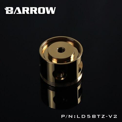 Couvercle supérieur de pompe d'alliage d'aluminium de brouette pour D5/SPG40A LD5BTZ-V2 d'or