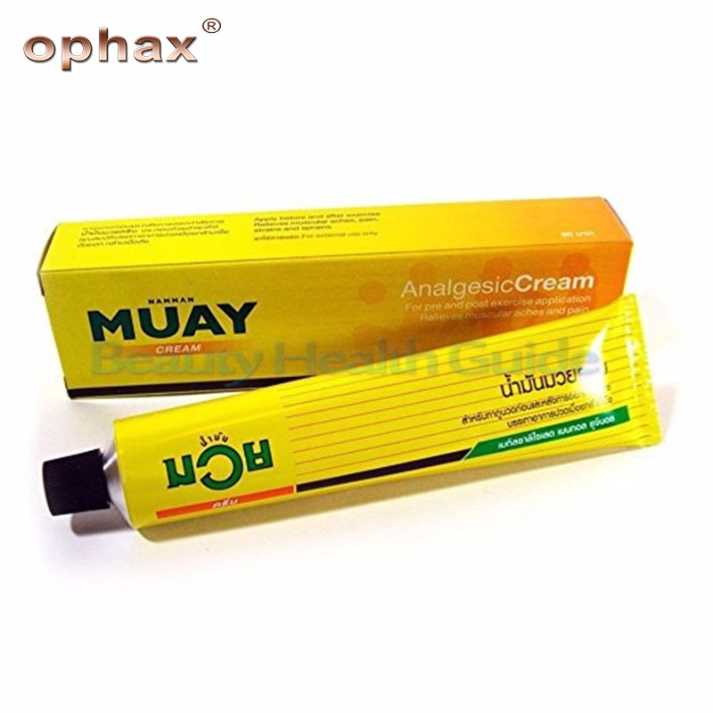100g Original Thailand Muay Analgesic Balm Medical Pain Relieving Cream Muscle Pain Arthritis Ointment For Joint Pain Health