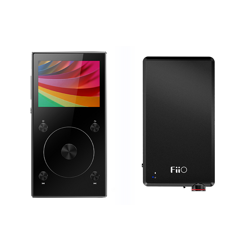 Bundle Sale of FiiO Portable Hi-Res Music Player X3 MKIII With FiiO Headphone Amplifier A5 bundle sale of fiio android based music player x7 ii with balance am3a with fiio triple driver hybrid in ear headphone f9