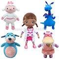 Doc McStuffins Игрушки Doc Lambie Ягненка Душно Дракон Холли Hippo Boppy Собака Плюшевые Игрушки 30 см Симпатичные Мягкие игрушки для Детей Куклы подарки