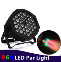 RGB/UV Sahne Işık 36 LEDLER Par Işık Disco DJ Aydınlatma dmx led par Kulübü Parti ışık Strobe AC110-240V