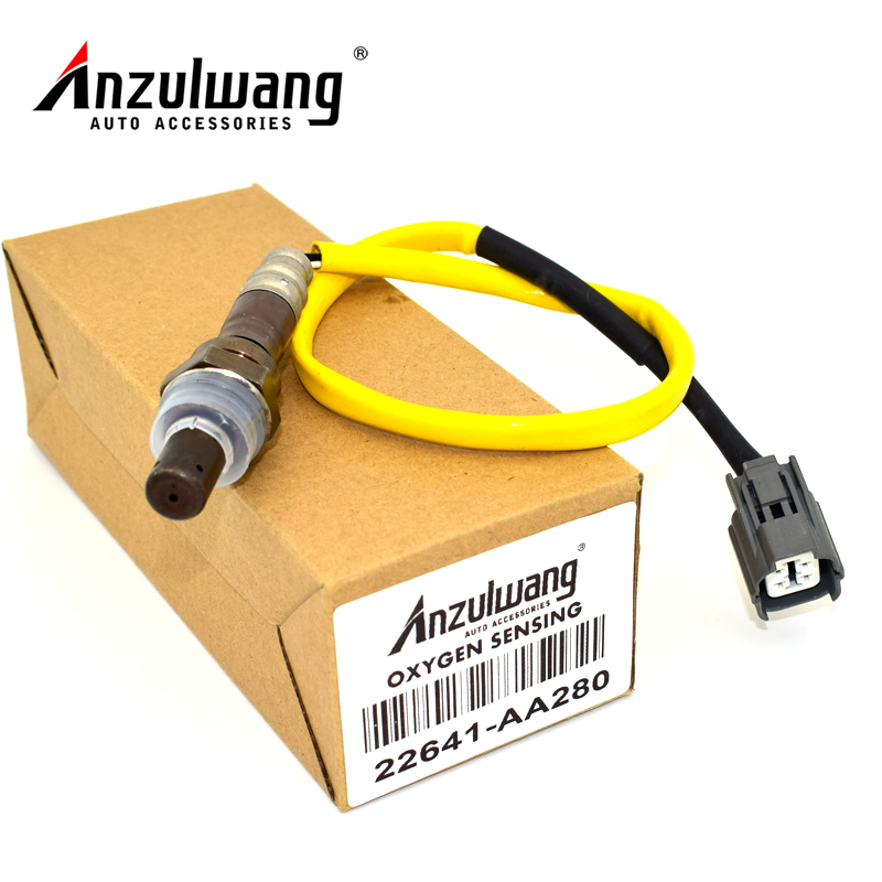 ANZULWANG Oxygen Sensor Air Fuel Ratio Sensor 22641-AA280 22641AA280 For Subar Forester  ...