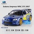 KINSMART Modelos de Fundición de Metal/1:36 Scale/Subaru Impreza WRC 2007 juguetes/para los regalos de los niños o para colecciones