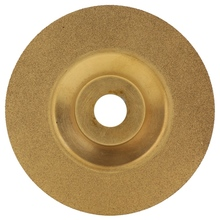100x20x10x5mm diamond grinding wheel cup grinding circles for tungsten steel milling cutter tool sharpener grinder accessories 100Mm Gold Diamond Titanium Grinding Wheel Saw Circular Cutting Disc Milling Cutter Tool Sharpener Angle Grinder Accessories