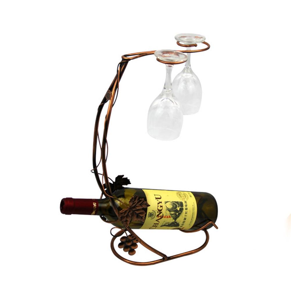 Glass Rack Holder Bottle