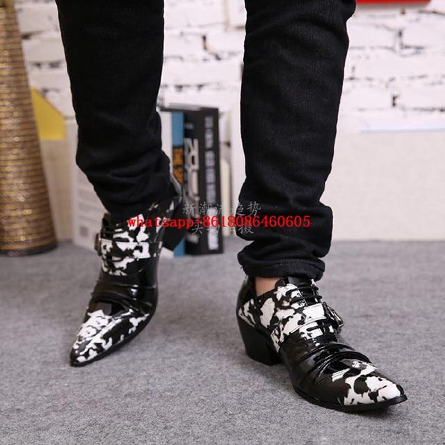 Choudory Cuero Europeo Para De Zapatos Hombre Estilo rqz1w8r