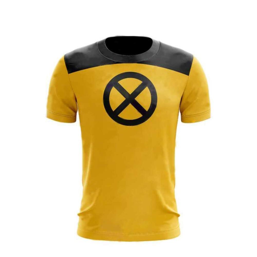 2018 Deadpool 2 T-Shirts Cosplay Deadpool X-Men Superhero Cool 3D T-Shirts New