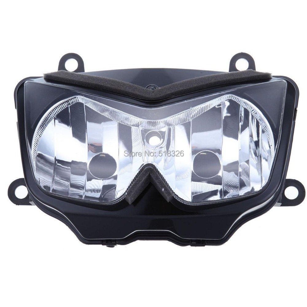 все цены на Motorcycle front Head light Headlamp lamp Headlight Assembly Clear Lens For Kawasaki Z750 2004 2005 2006 04 05 06 k4 k5 k6 онлайн