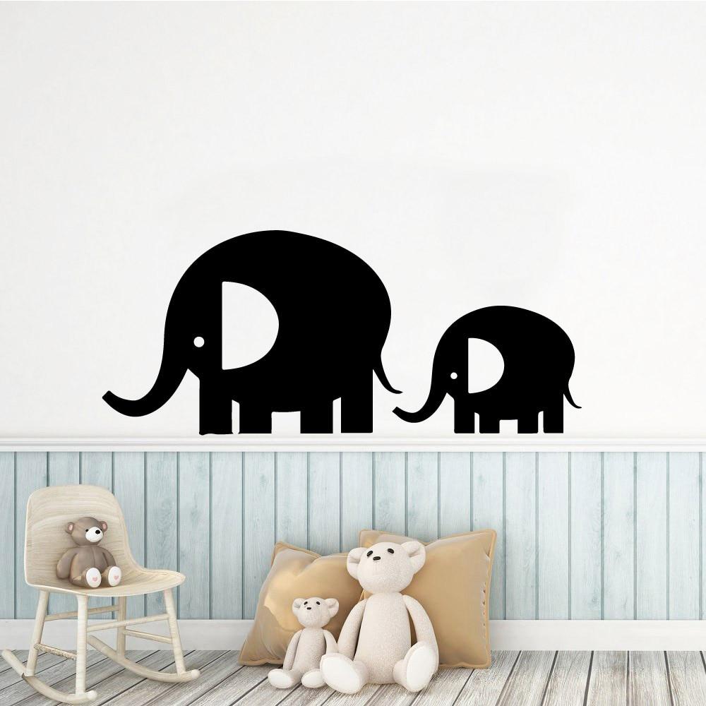 Frete grátis Elephant Vinil Adesivos de Parede Da Cozinha Papel De Parede para Sala de estar Da Empresa Escola Escritório Acessórios de Decoração