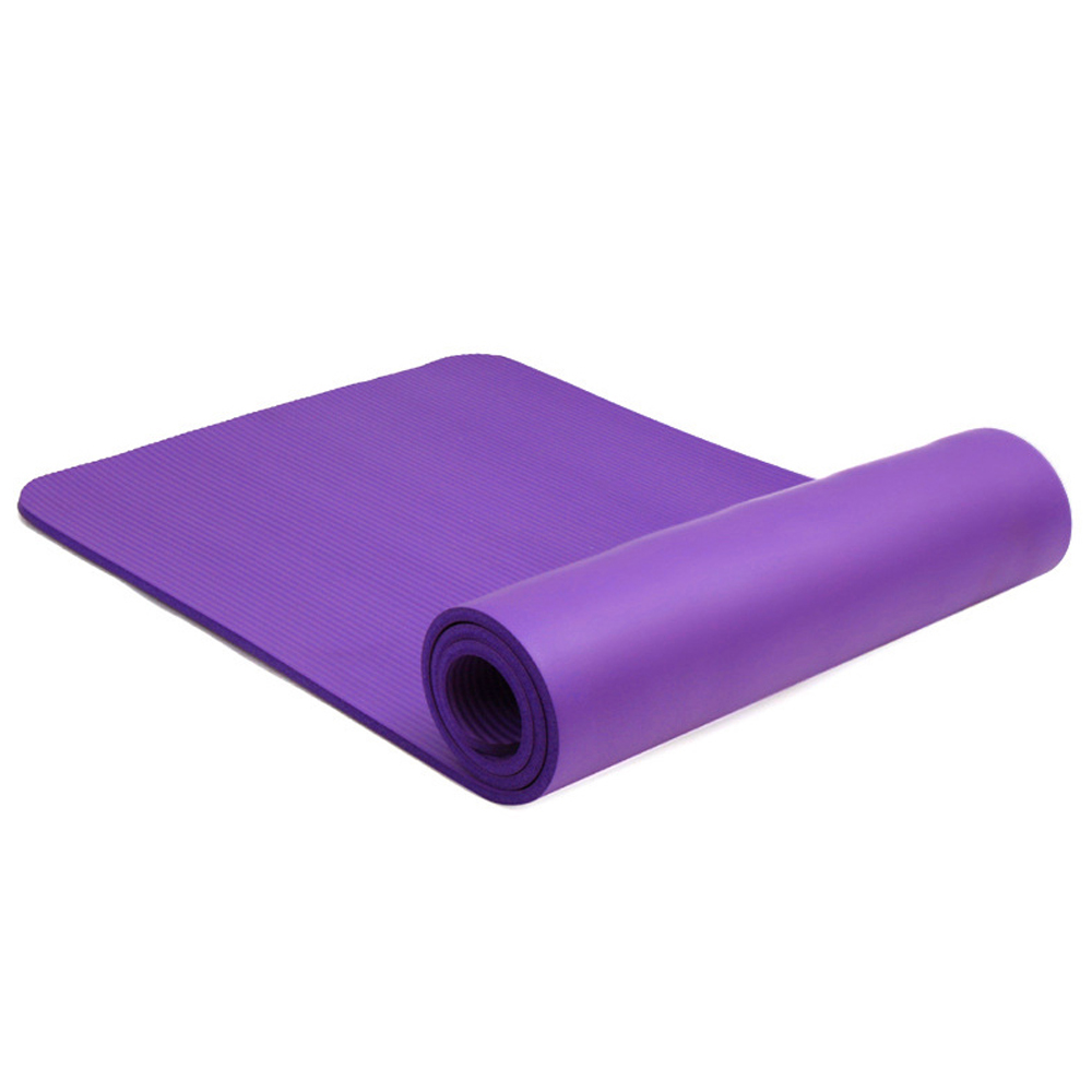 yoga mat exercise stra pad workout gym itm foam mats extra thick carrying pilates fitness
