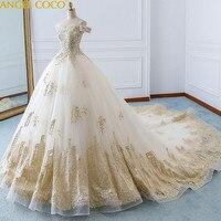 Высокая конец пользовательские свадебное платье для беременных Романтический беременных Для женщин Благородный Длинные королевский элег