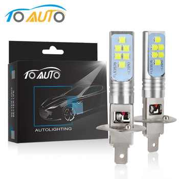 2pcs H1 H3 H11 H8 LED HB3 9005 HB4 9006 LED Bulbs Car Light Lamp 12V 6000K White 1400LM Driving Lamp Auto LED Lights - DISCOUNT ITEM  35% OFF All Category