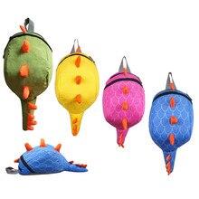 Los niños de kindergarten mochila niños niñas mochilas escolares mochila de dibujos animados de animales pequeños dinosaurios aperitivos 3-6 años de moda