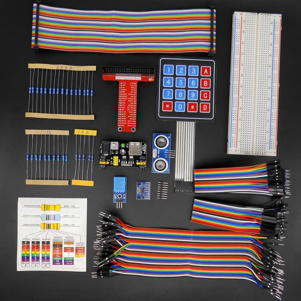 ФОТО Hot Newest RFID Starter Learning Kit T-Shaped GPIO Board for Raspberry Pi 2 Model B