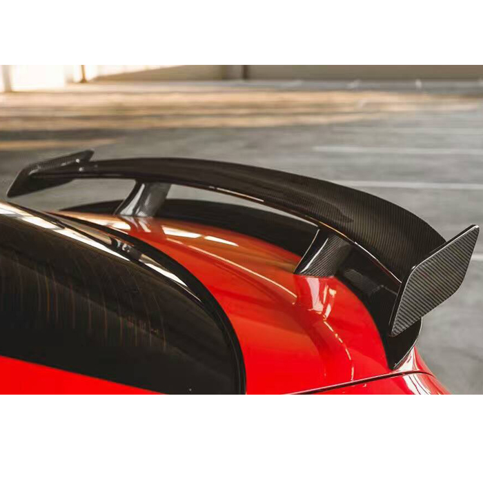 Fit for Mercedes-Benz <font><b>CLA200</b></font> 220 250 260 A45 REVOzport carbon fiber <font><b>spoiler</b></font> wing tail image