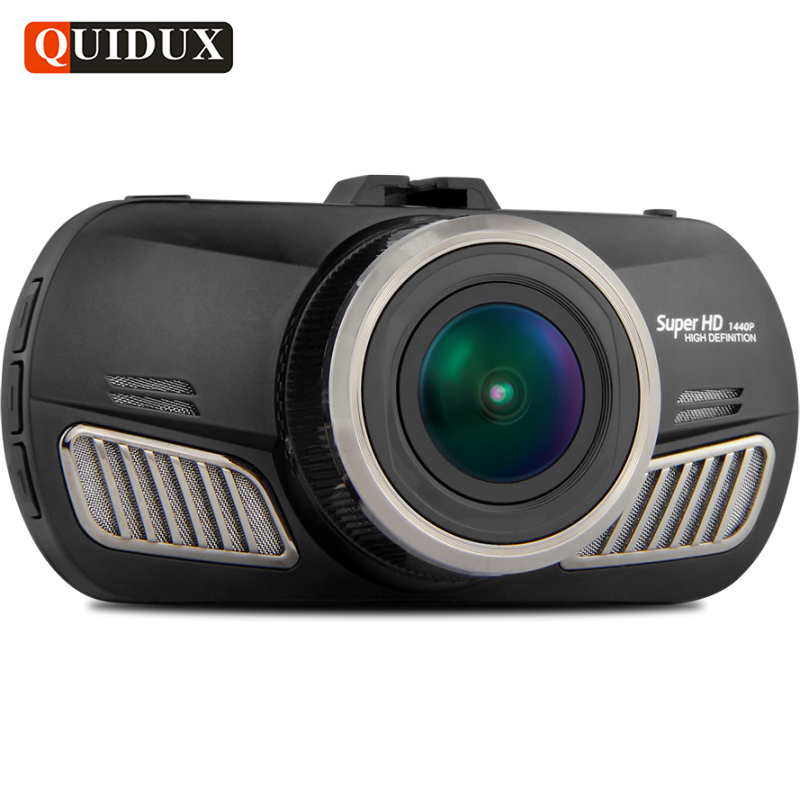QUIDUX Car DVR Camera ADAS Full HD 1080P Ambarella A12 HDR 1440P Video Recorder Night Vision G-sensor Cycle Recording DashCam bigbigroad for nissan qashqai car wifi dvr driving video recorder novatek 96655 car black box g sensor dash cam night vision