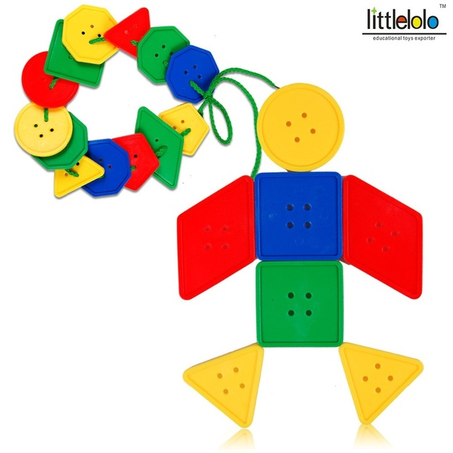 Juguetes Educativos Plástico Formas Geométricas Para Niños