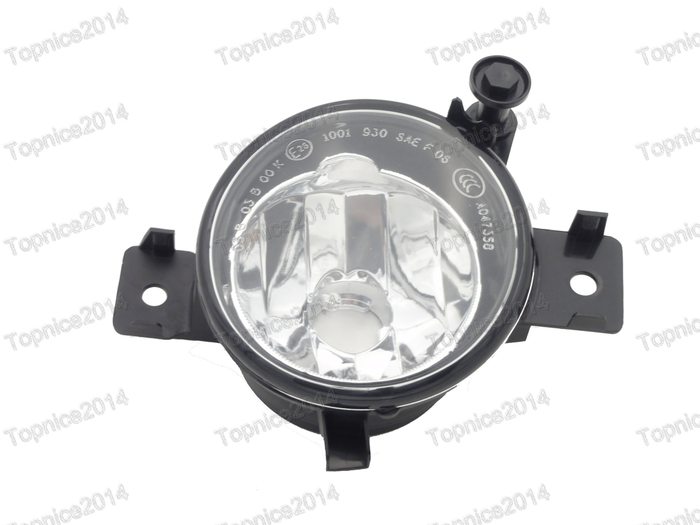 1Pcs Right Side 63177224644 Clear Driving Fog Light Lamp For BMW X5 E70 LCI 2011-2013