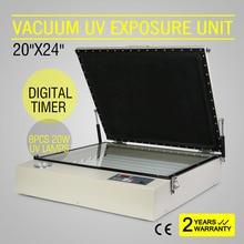 Вакуумного ультрафиолетового Облучения Блок Экран печатная машина цифровой тиснения PCB сушки
