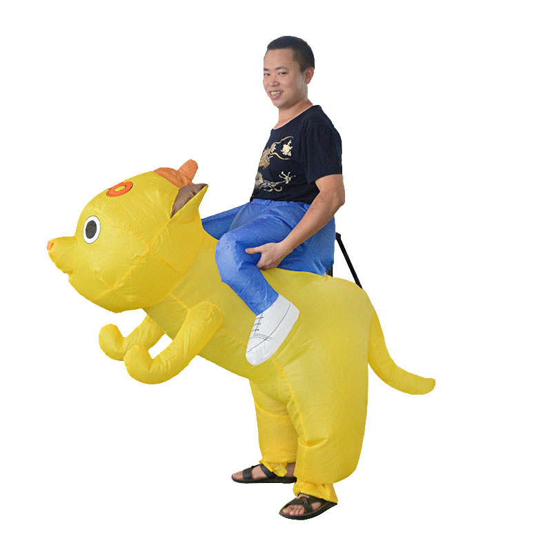 New Inflatable dog Costume cosplay for Men and Women Cosplay Mascot Costume for Halloween party clothes