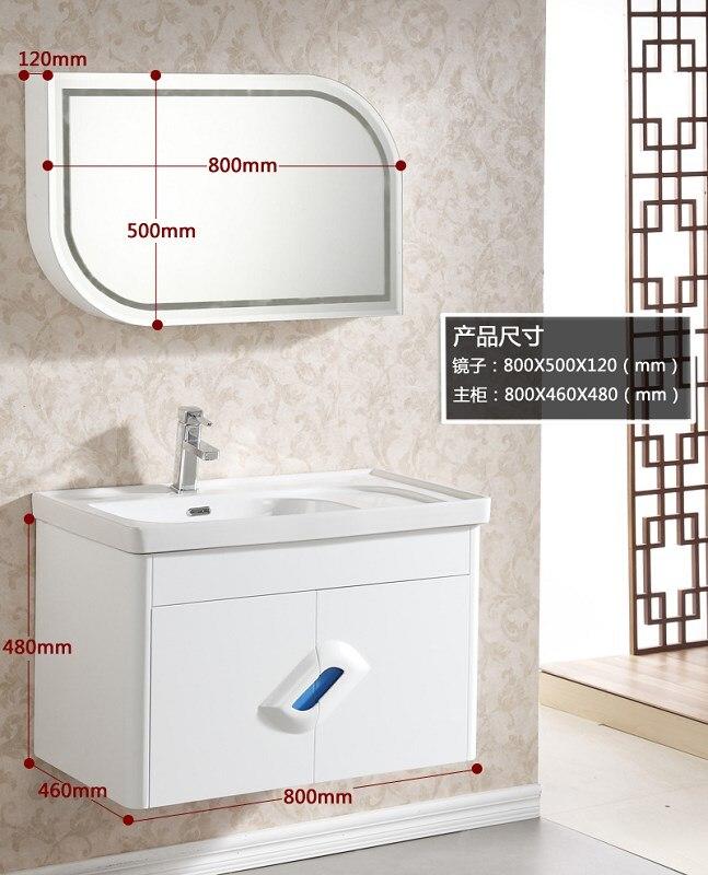 vendita calda della fabbrica mobili per la casa bagno bianco vanity 0283 1007
