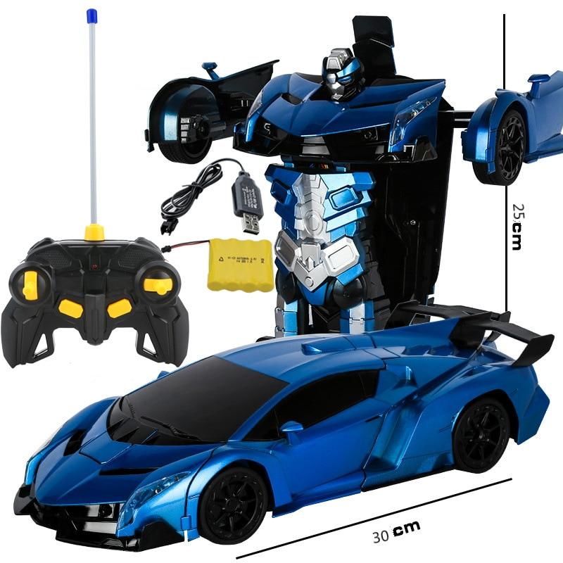 Deformation car remote control deformation robot a key deformation remote control car gesture sensing deformation toy car 30L008