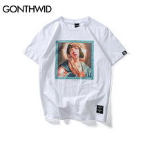 Virgin Mary Men's casual T-Shirt – GONTHWID