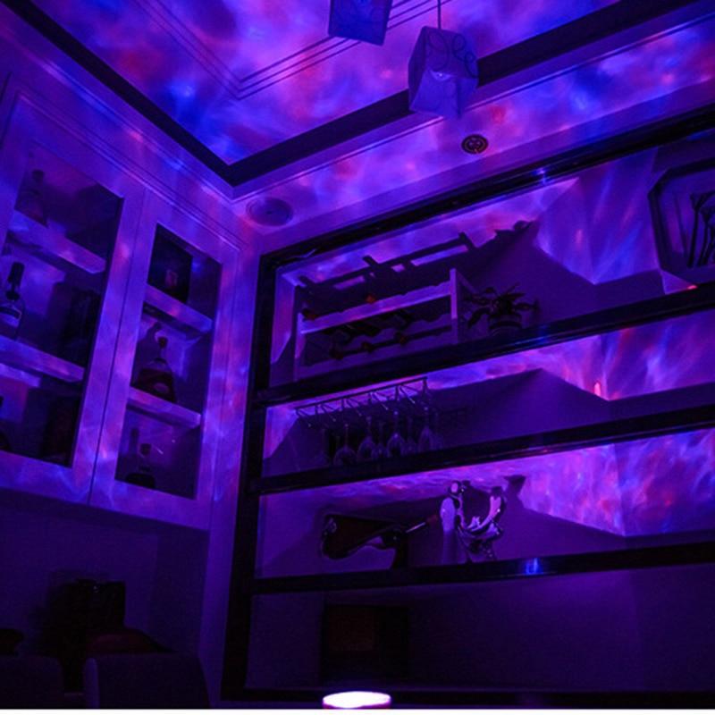 Luzes da Noite remoto usb lâmpadas sala de Item : Projector Night Light