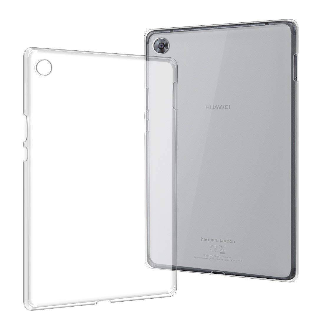Case for Huawei MediaPad M3 8.4 inch Cover BTV-W09 BTV-DL09 Tablet Cover 360 Full Protecive Soft Clear Back Case MediaPad M3 8.4 image