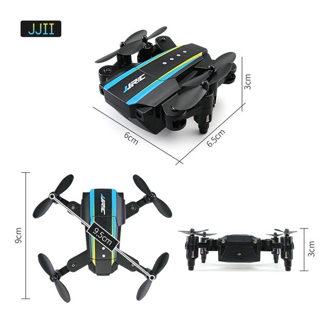 In Stock JJRC H345 JJI JJII Mini 2.4G 4CH 6 Axis Headless Mode Foldable Arm Double RC Drone Quadcopter RTF X-mas Christmas Gift