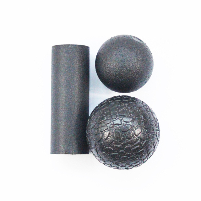 1 Set Massage Health Fitness Ball Myofascial Release Fascia Massager Roller Crossfit Body Pilates Yoga Medicine Gym Sport Ball