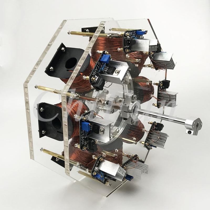 8 stage stator brushless internal rotor motor large scale ...