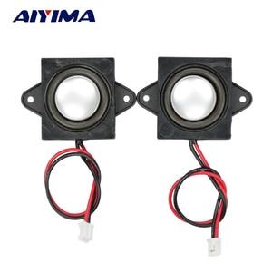 Image 2 - AIYIMA 2 Pcs Full Range Audio Tragbare Lautsprecher 8 Ohm 3 W Einzel Tone Lautsprecher Mini Stero Werbung Computer Lautsprecher
