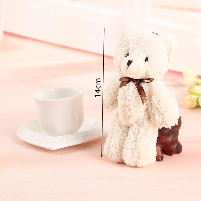 5PCS / LOT Горячие 14CM Kawaii Маленькие белые - Мягкие и плюшевые игрушки