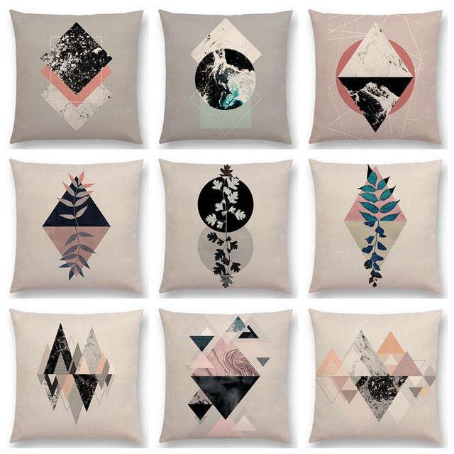 Hot Koop Geometrische Texturen Grafische Minimalisme Prints Natuur ...