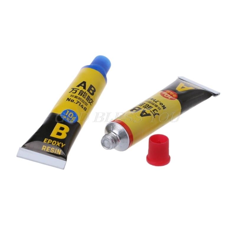 2PCS Epoxy Resin AB Glue All Purpose Adhesive Super Glue For Glass Metal Ceramic Drop Shipping 4