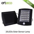 Solar Powered LED Street Light Outdoor lighting 20 LED Solar Sensor Light Emergency Wall Lamp Security Spot Light
