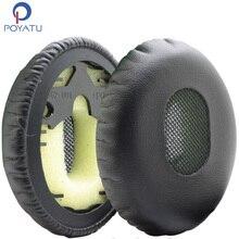 Poyatu Earpads For Bose On-Ear/OE1 QC3 QuietComfort 3 Headphone Replacement Ear Pad Ear Cushion Ear Cups Ear Cover Repair Parts