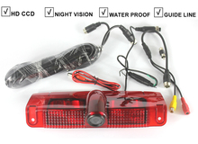 Car Brake Light Backup Camera For CHEVROLET EXPRESS VAN GMC SAVANA VAN CCD Reverse Rear View Auto Camera Parking LED 600TV Line