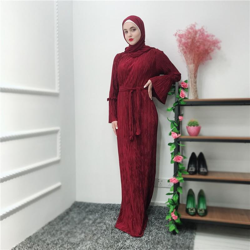 Kimono abaya pour femmes manches évasées robe maxi hijab mode caftan marocain ramadan abaya dubaï robe musulmane vêtements islamiques