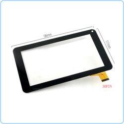 Новый 7-дюймовый сенсорный экран с цифровым преобразователем, стекло для планшетов, планшетов