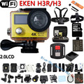 "Action Camera Original Eken H3R / H3 Ultra 4K HD 2.0"" Dual Screen Action Camera Waterproof 170D Lens go - pro Style cam"