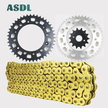 520 14T 47T Motorcycle Drive Chain and Front Rear Sprocket Kit For HONDA CR250 CR 250 1992 1993 1994 1995 - 2008 14 47 tooth